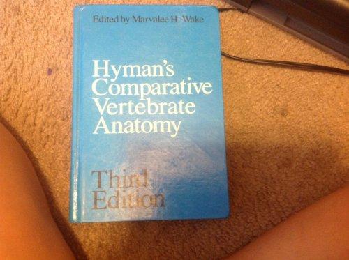 Pdf anatomy comparative hymans vertebrate