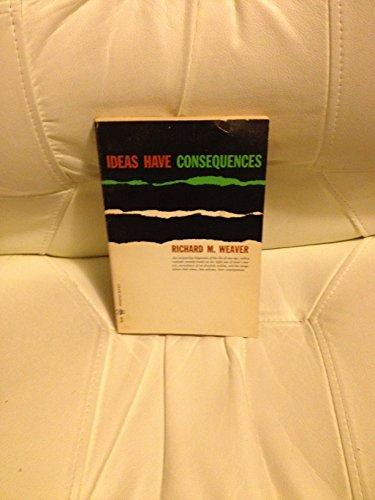9780226876788: Ideas Have Consequences (Phoenix Books)
