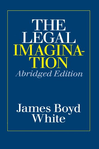 9780226894935: The Legal Imagination