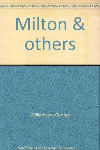 9780226899374: Milton & others
