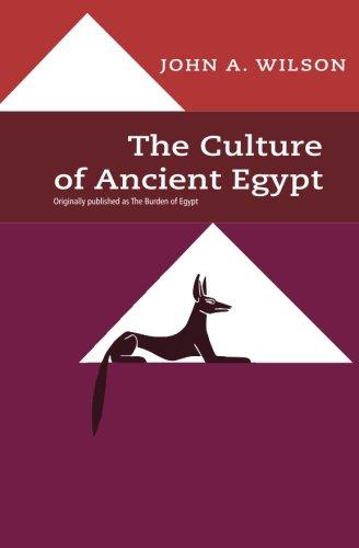 9780226901527: The Culture of Ancient Egypt (Phoenix Books)