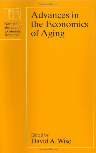 9780226903026: Advances in the Economics of Aging (National Bureau of Economic Research Project Report)