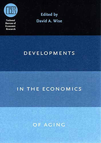 9780226903354: Developments in the Economics of Aging (National Bureau of Economic Research Conference Report)