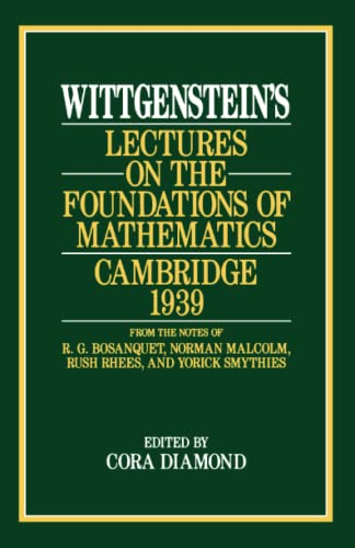 9780226904269: Wittgenstein's Lectures on the Foundations of Mathematics, Cambridge, 1939