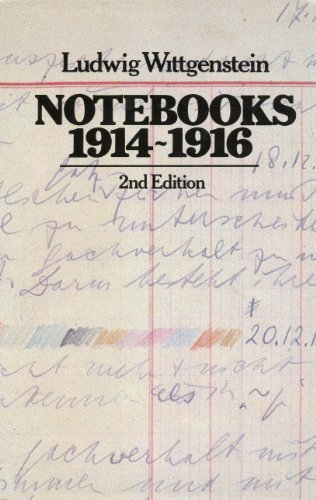 9780226904290: Notebooks, 1914-1916 (English, German and German Edition)