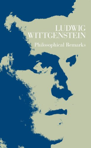 9780226904313: Philosophical Remarks