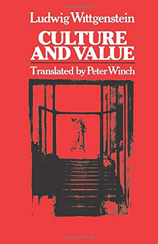 Culture and Value: Ludwig Wittgenstein; Translator-Peter