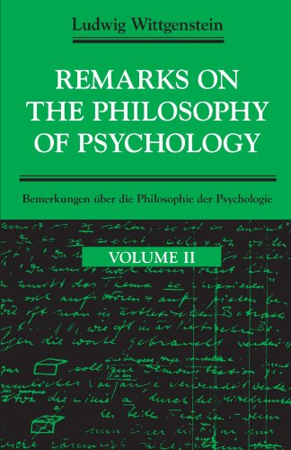 Remarks on the Philosophy of Psychology, Vol.: Wittgenstein, Ludwig; Wright,