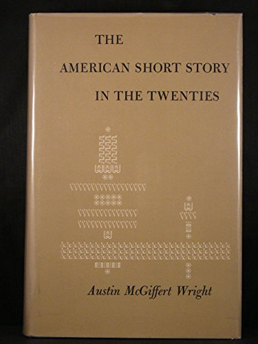9780226908496: American Short Story in the Twenties