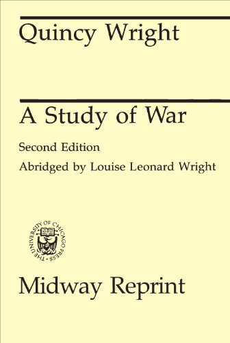 9780226910017: A Study of War, 2nd Edition (Midway Reprint)