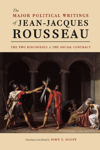 9780226921860: The Major Political Writings of Jean-Jacques Rousseau: The Two