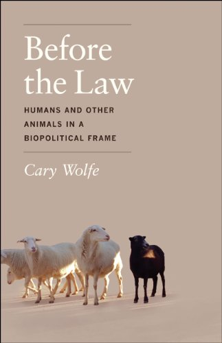 9780226922416: Before the Law: Humans and Other Animals in a Biopolitical Frame