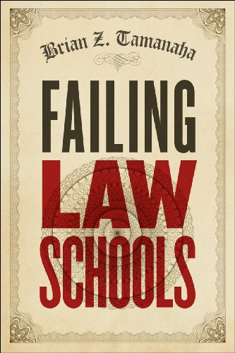 9780226923611: Failing Law Schools (Chicago Series in Law and Society)