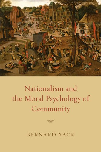 9780226944678: Nationalism and the Moral Psychology of Community