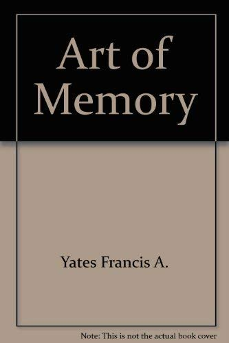 9780226949994: Art of Memory by Yates Francis A.