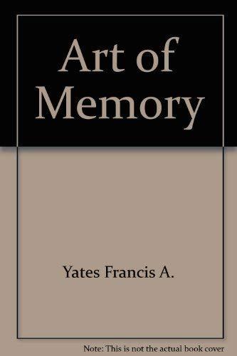 9780226949994: Art of Memory