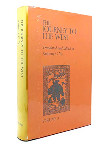 The Journey to the West, Vol. 3: Anthony C. Yu, Cheng'en Wu, W. J. F. Jenner