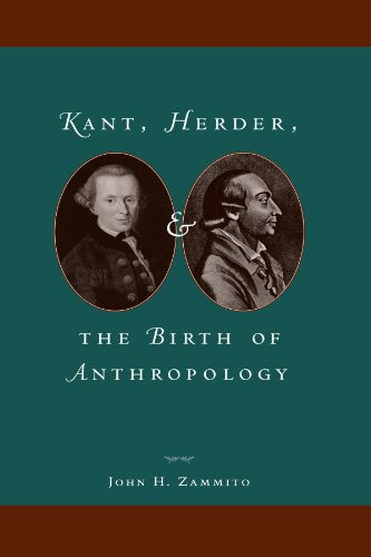 9780226978598: Kant, Herder, and the Birth of Anthropology