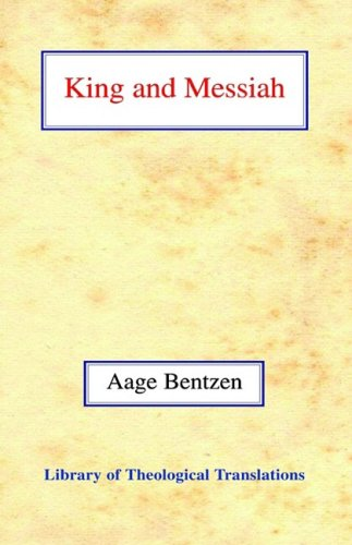 9780227170571: King and Messiah (Library of Theological Translations)