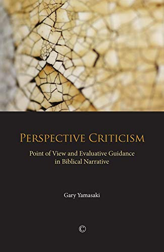 9780227173992: Perspective Criticism: Point of View and Evaluative Guidance in Biblical Narrative