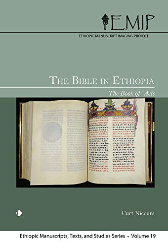 9780227174357: Bible in Ethiopia: Book of Acts (Ethiopic Manuscripts Texts and)