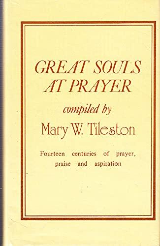 9780227674741: Great Souls at Prayer