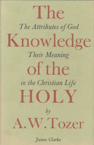 9780227676660: The Knowledge of the Holy