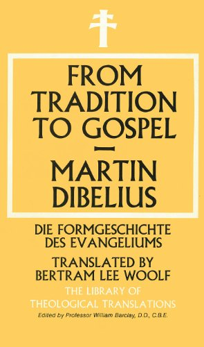 9780227677520: From Tradition to Gospel (Library of Theological Translations)