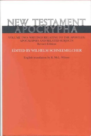 9780227679159: New Testament Apocrypha, Vol. 1: Gospels and Related Writings