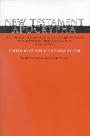 9780227679173: New Testament Apocrypha Writing Related to the Apostles - Apocalypse and Related Subjects