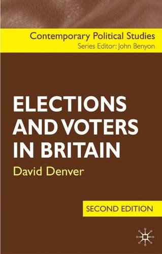 9780230001596: Elections and Voters in Britain (Contemporary Political Studies)