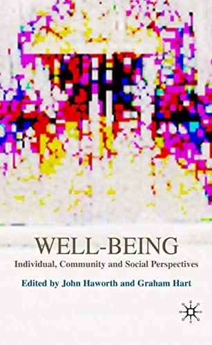 9780230001688: Well-Being: Individual, Community and Social Perspectives