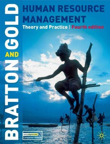9780230001749: Human Resource Management: Theory and Practice