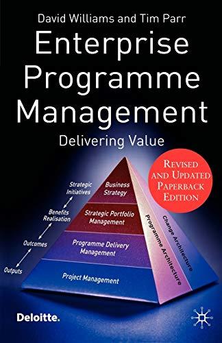 9780230002340: Enterprise Programme Management: Delivering Value