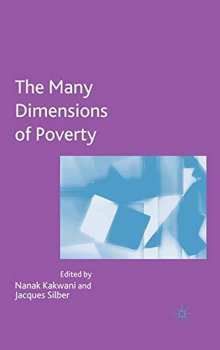Many Dimensions of Poverty: Editor-Nanak Kakwani; Editor-Jacques Silber