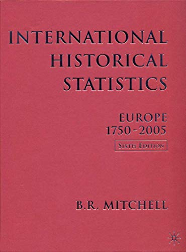9780230005143: International Historical Statistics: 1750-2005: Europe