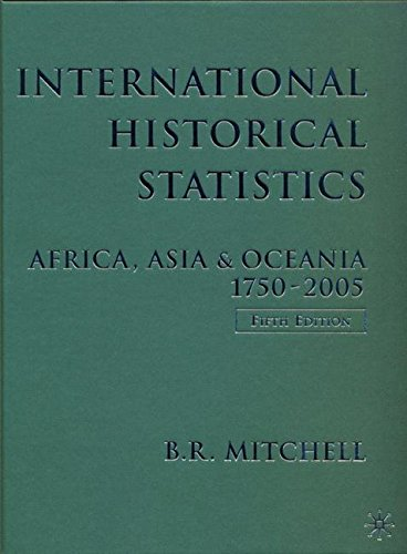 9780230005150: International Historical Statistics: Africa, Asia & Oceania, 1750-2005