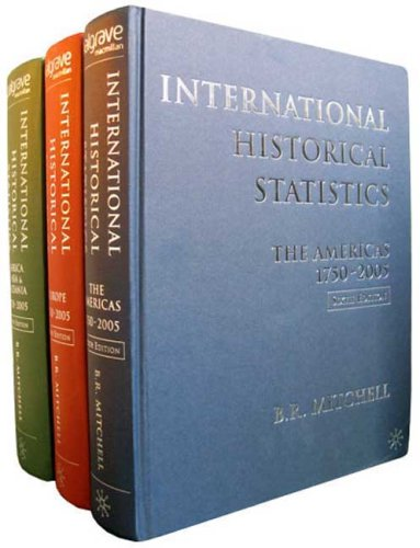 9780230005167: International Historical Statistics: 3 Volume Set, 1750-2005 (Africa, Asia and Oceania & Americas & Europe)