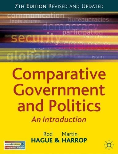 9780230006362: Comparative Government and Politics: DISTRIBUTION CANCELLED