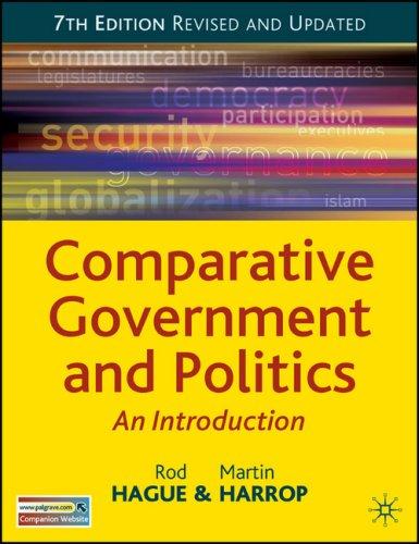 9780230006379: Comparative Government and Politics