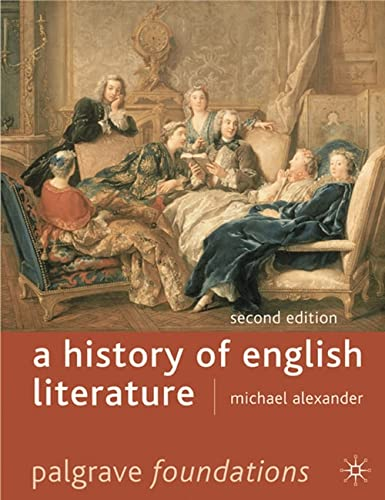 9780230007239: A History of English Literature