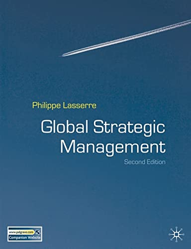 9780230008366: Global Strategic Management, Second Edition