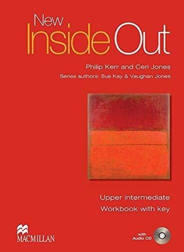 9780230009233: New Inside Out, Upper intermediate Workbook with key + Audio CD (Alto Saxophone)