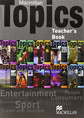 9780230009745: Macmillan Topics: All Levels British English A1 - B1: Teacher's Book