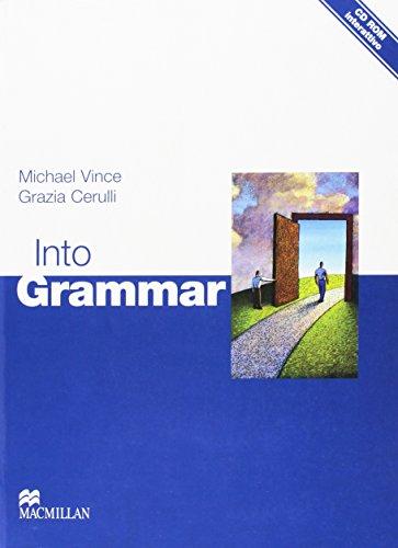 9780230011229: Into grammar. Student's book. Per le Scuole superiori. Con CD-ROM