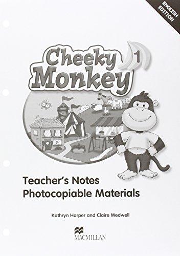 9780230011410: Cheeky Monkey 1 Teacher's Book