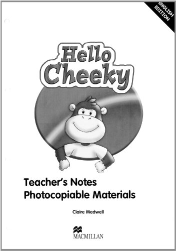 9780230011595: Hello Cheeky Teacher's Book (Cheeky Monkey)