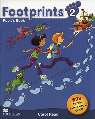 9780230012097: Footprints 2 Pupil's Book Pack (Pupil's Book, CD-ROM, Songs & Stories Audio CD & Portfolio Booklet) A2