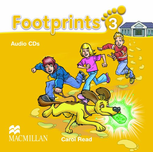 9780230012134: Footprints 3 Audio CDx3