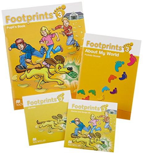 9780230012189: Footprints 3: Pupil's Book Pack
